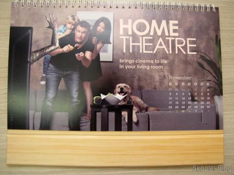 Calendário de Mesa da DX 2014 com Cupons de Desconto nos 12 meses, totalizando US$ 237,00 (DX 2014 Desk Calendar with 12 Months' Coupon Codes (Value USD$ 200)): Mês de Novembro