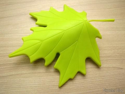 Para-Portas Estilo Folha de Maple Verde (YSDX-382 Maple Leaf Style EVA Door Stopper - Green)