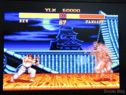 Street Fighter II é um dos jogos onde os Controladores de 6 Botões ASCII 'Rhino' para Mega Drive (NEW Sega Genesis 6 Button RHINO PAD controller control) se destacam