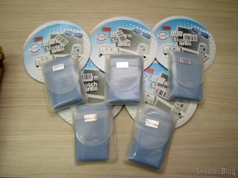 5 Tecidos de Limpeza Hi-Tech para Gadgets 3M Scotch Brite (3M Scotch Brite Hi-Tech Cleaning Cloth for Gadgets (Random Color))