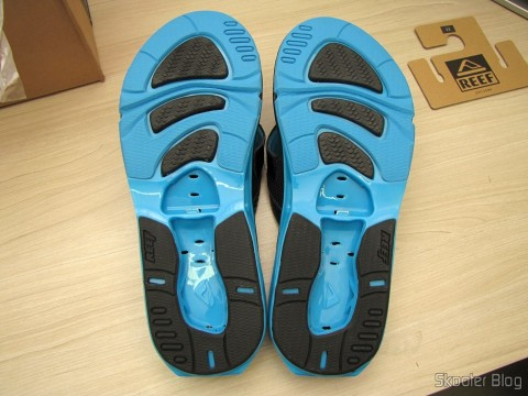 Slippers Pair sole Reef X-S Male (Reef Men's X-S Flip Flop)