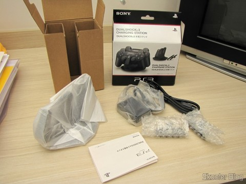 Official Dualshock 3 Charging Station (PS3) (SONY) and accessories