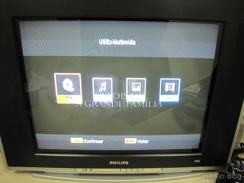 Media Player no Ekotech ZBT-670N