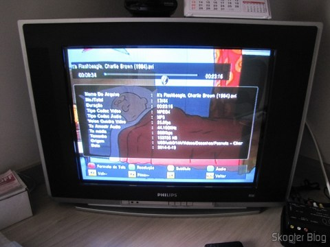 Media Player EKOTECH ZBT-670N running