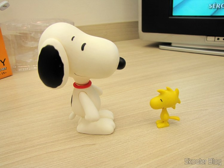 Action Figures de Snoopy & Woodstock