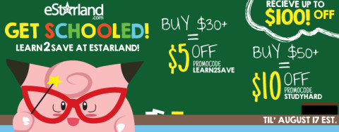 Back to School promotion of eStarland