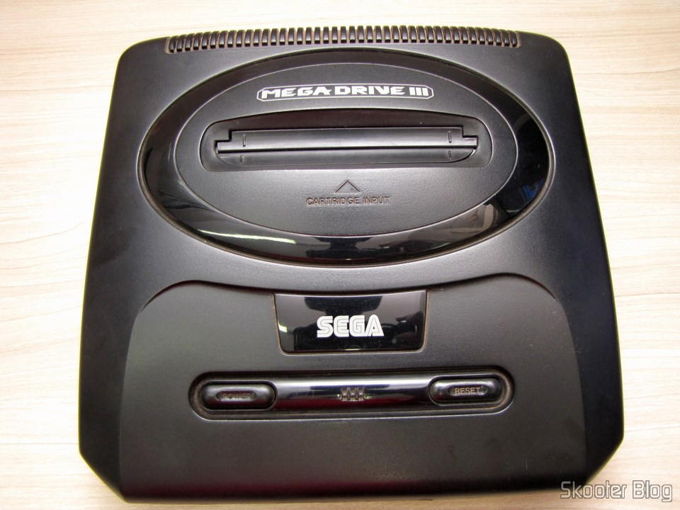 My Mega Drive III Tec Toy inside and sound samples
