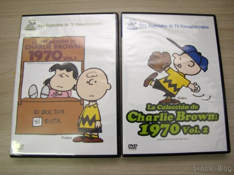 DVDs Peanuts 1970 Collection Vol. 1 and 2 - The Charlie Brown Collection 1970 Latin