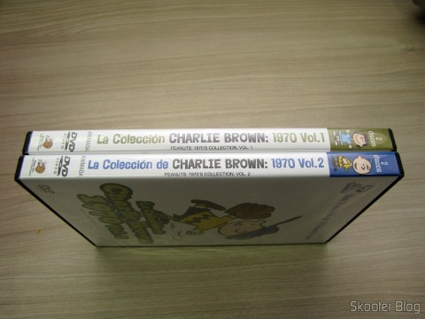 DVDs Peanuts 1970 Collection Vol. 1 and 2 - La Coleccion de Charlie Brown 1970 Latino