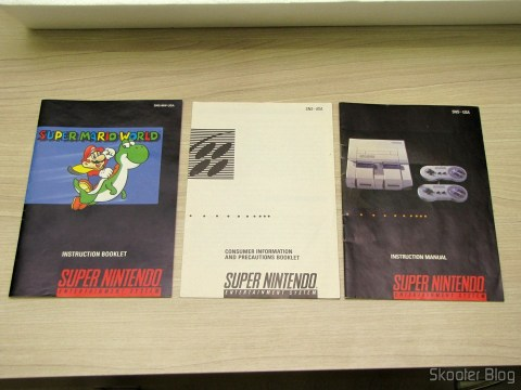 Books Super Mario World and Super Nintendo