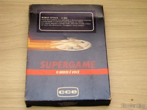 Caixa do Cartucho Robot Attack do Atari 2600
