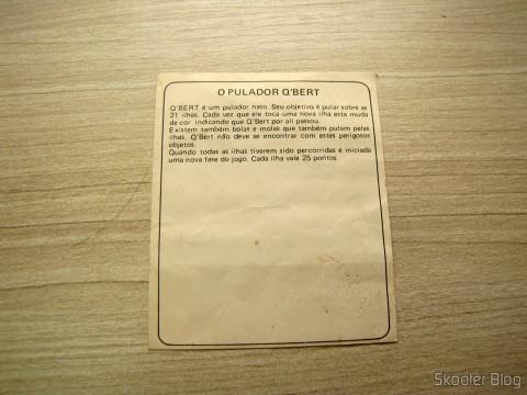 Manual de O Pulador Q'Bert