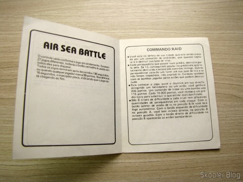 Manual de Air Sea Battle e Command Raid