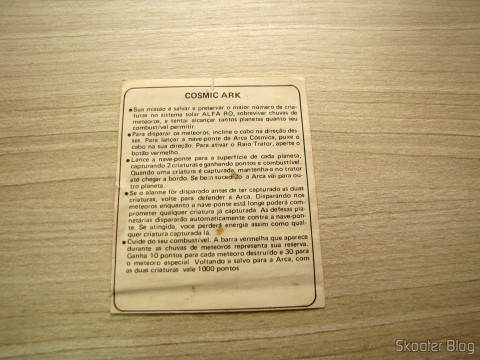 Manual de Cosmic Ark