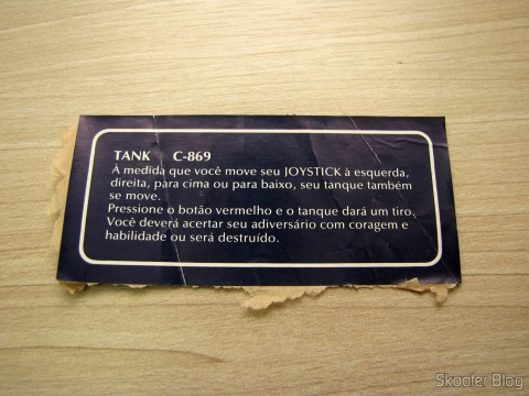 Manual de Tank