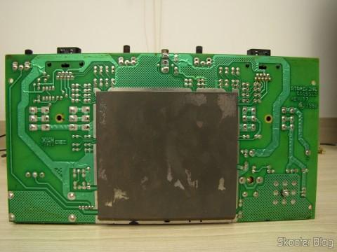 A placa do Atari 2600, assim que o abri