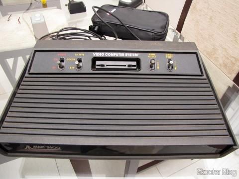 O Atari 2600, pronto para usar