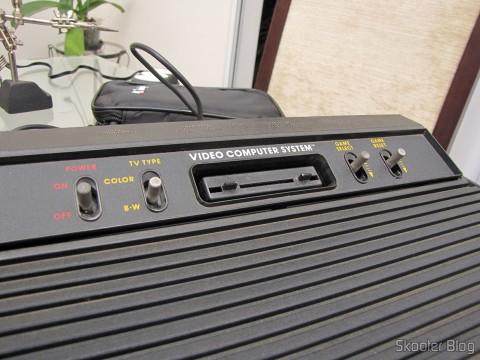 The Atari 2600, ready for use