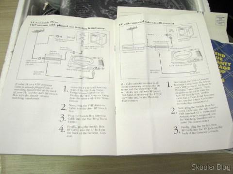 Manual do Sega Genesis