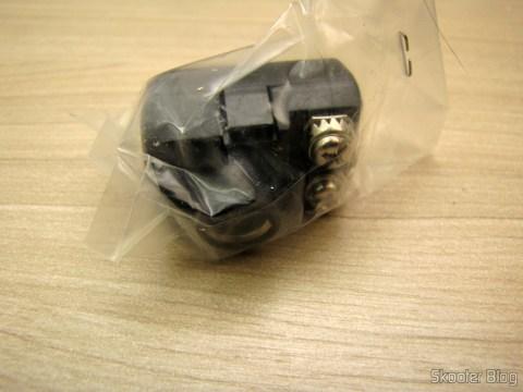 Adaptador da Sega de fita de 300 ohms para cabo de 75 ohms, nunca utlizado