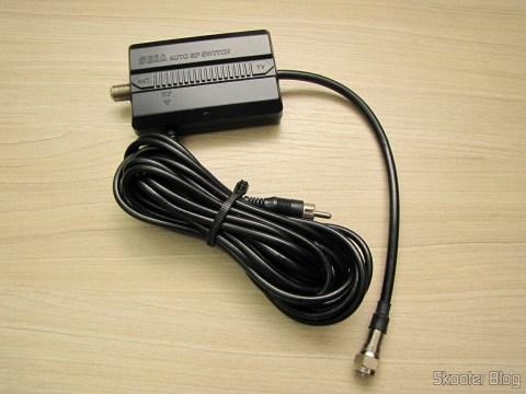 Cabo de RF e comutador automático do Sega Genesis