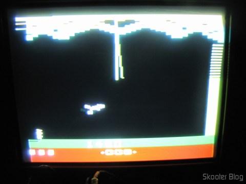 Mr. Postman no Atari VCS/2600 através da saída de vídeo composto