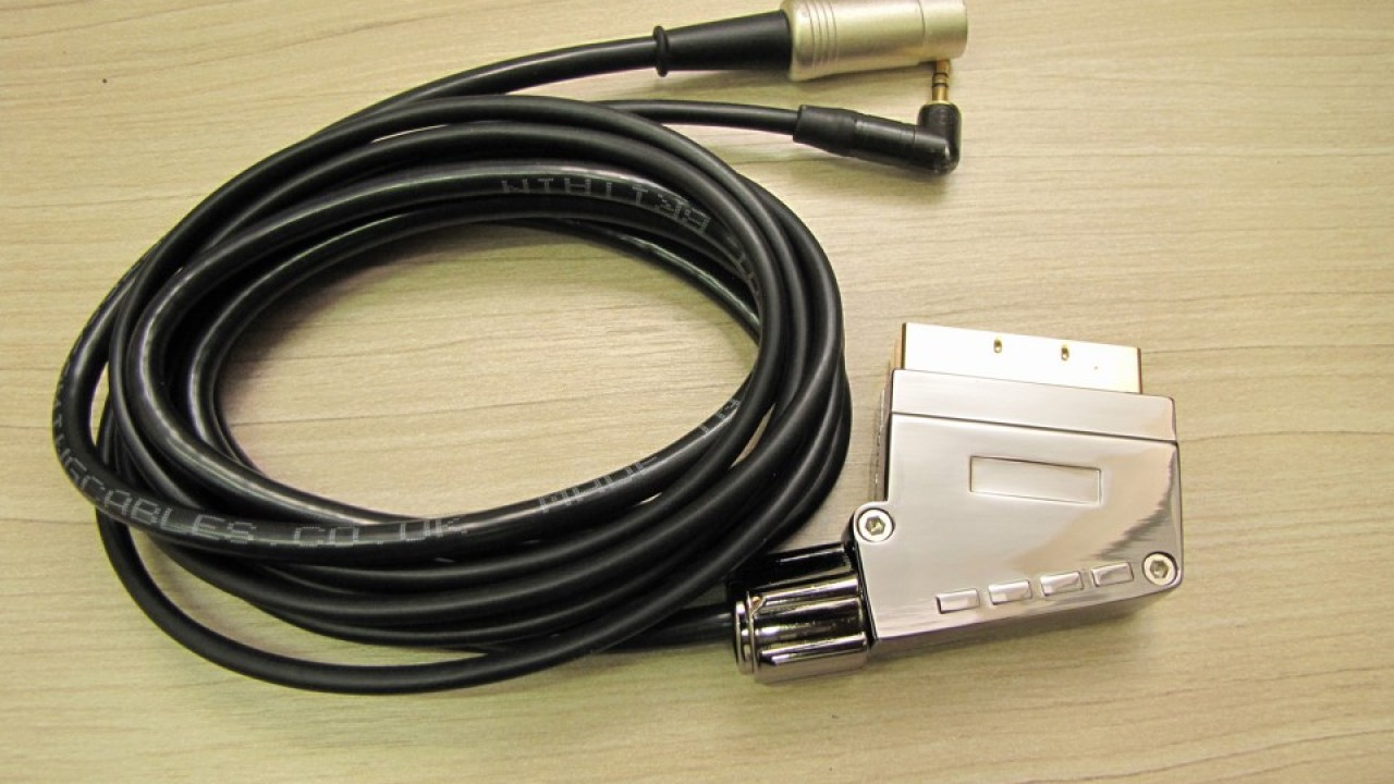 027c16603ec SCART RGB cable for Mega Drive 1 / Sega Genesis 1 / Mega Drive 2 by Tec Toy  with Stereo Audio (Pack-a-Punched!)
