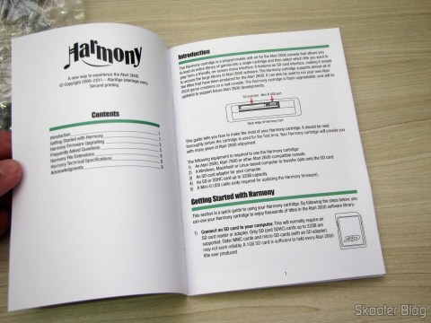 Manual do Harmony Cartridge - O cartucho com memória flash para o Atari 2600