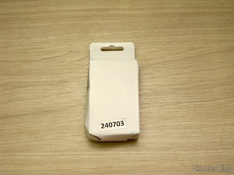 "Bateria BL-5C-GD 3.7V ""2450mAh"" Golden, on its packaging"