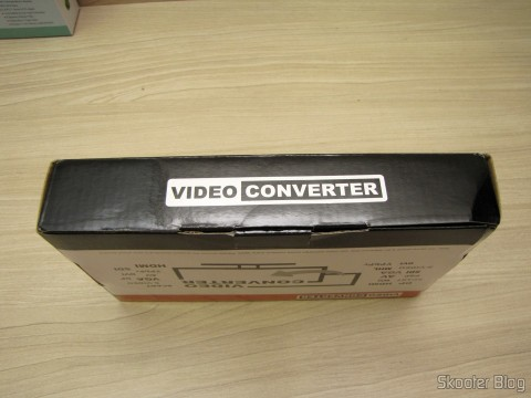 Component Video Converter (YPbPr), S-Video, Composed Video (CVBS) and Stereo Audio to HDMI (YPbYPbPrCVBCVBSS-video to HDMI Video Converter - Black (100~ 240V)), on its packaging