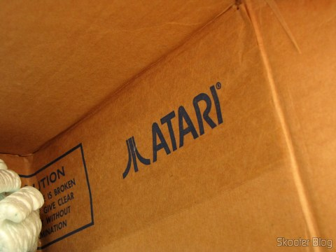 Pacote da Best Electronics com os acessórios de Atari 2600