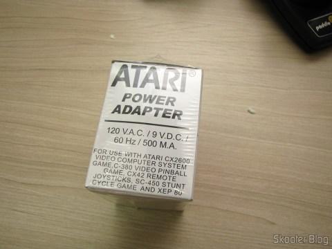 Atari US 2600/2600A/2600JR Power Adapter, na embalagem lacrada