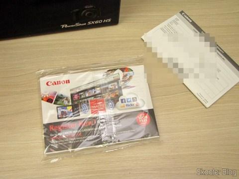Manuais de instruções da Câmera Digital Canon PowerShot SX60 HS
