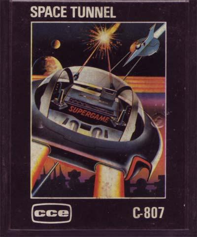 O cartucho do Space Tunnel da CCE
