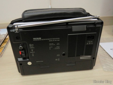 Radio Tecsun BCL-back 3000 with Analog Tuner and Digital Display AM / FM / SW World