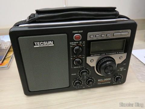 Rádio Tecsun BCL-3000 com Sintonizador Analógico e Display Digital AM/FM/SW Mundial