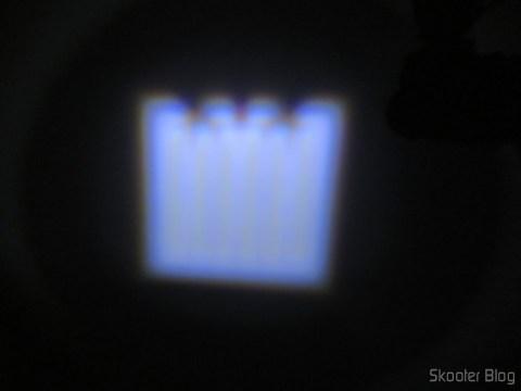 Lanterna Ultrafire 503B 860 Lumens, 5 Modes, White, Zoom, LED Cree XM-L T6, operation