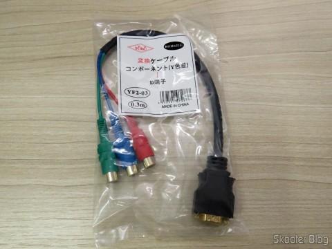 Adaptador de D-Terminal para Vídeo Componente