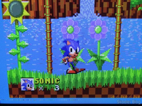 Sonic The Hedgehog no Framemeister XRGB Mini