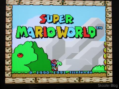 Cabo SCART RGB do Super Nintendo (CSYNC)with upgrade to Cape multicore coaxial mini, operation
