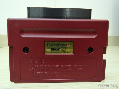 Rear of PowerBase Mini FM