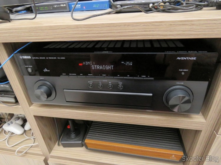 Yamaha RX-A830 7.2-Channel Network AVENTAGE Home Theater Receiver, operation