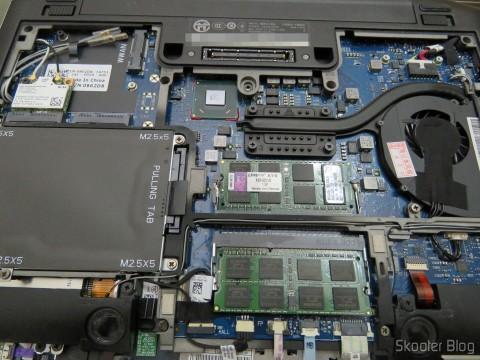 O Ventilador de Refrigeração para Dell Latitude E6220 - Forcecon DFS400805L10T FAA6 novo já instalado