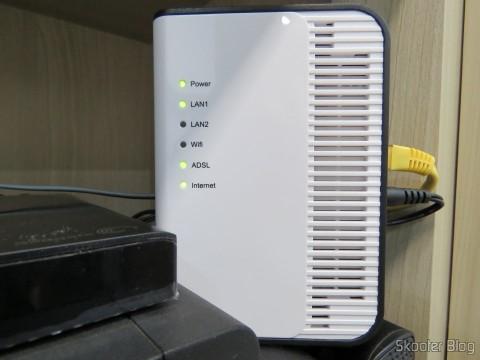 Clamper Tel - DPS protegendo o modem ADSL