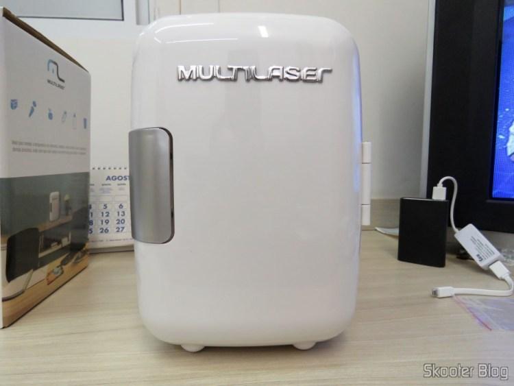 Mini Geladeira Portátil 12V ou 110V com 4 Litros de Capacidade, Função Esquenta e Resfria - Multilaser