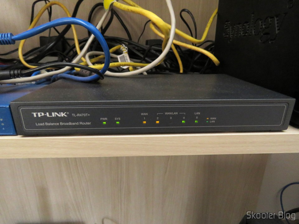TP-Link TL-R470T+ Load Balance Broadband Router