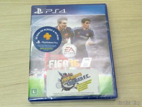 Fifa 16 (PS4), ainda lacrado