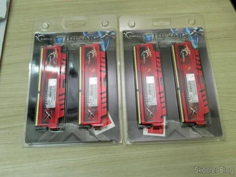 2 Kits de Memória Ripjaws-X F3-12800CL9D-8GBXL