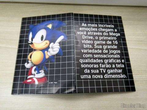 Games leaflet accompanying the Mega Drive III Tec Toy