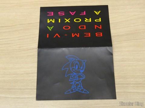 Folheto que acompanhava o Mega Drive III da Tec Toy